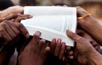 Bible dedication dédicace Bibel Einweihung